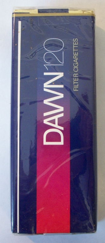 Dawn 120's Filter - Vintage American Cigarette Pack