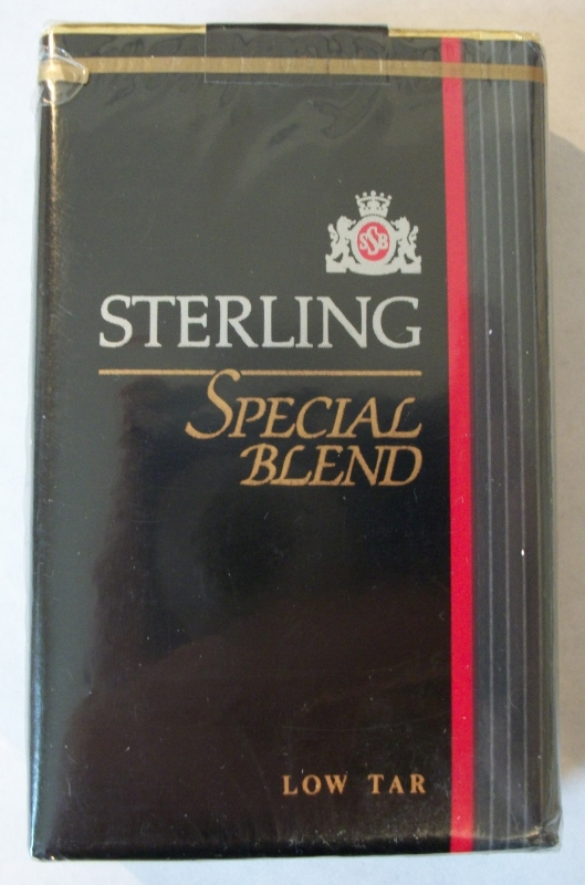 Sterling Special Blend King Size - Vintage American Cigarette Pack