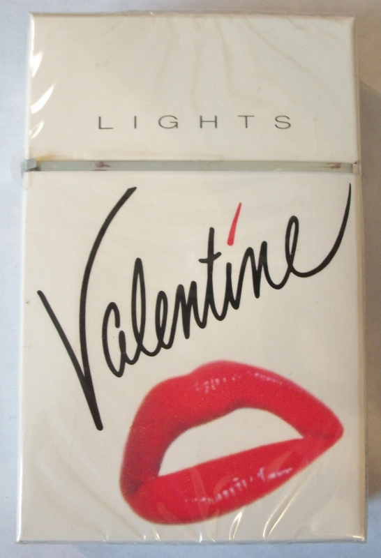 Valentine Lights Kings Box - Vintage American Cigarette Pack